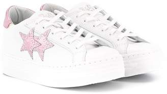 Star Kids 2 TEEN double star patch sneakers