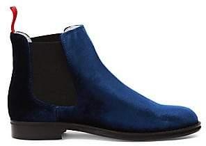 Del Toro Women's Chelsea Velvet Boots