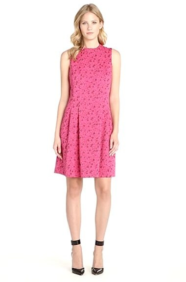 MARC NEW YORK by Andrew Marc Jacquard Fit & Flare Dress 3