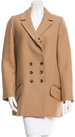 Chloé Chloé Wool Button-Up Coat