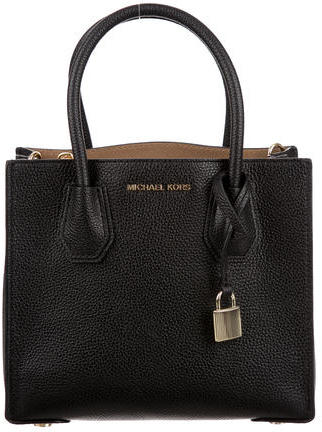 MICHAEL Michael Kors Michael Kors Pebbled Leather Satchel