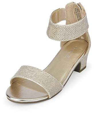 Children's Place The Girls' Dressy Low Heel Sandal