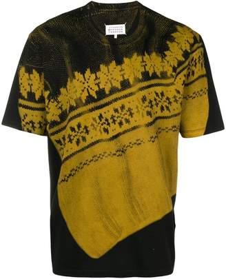 Maison Margiela nordic print short-sleeve T-shirt