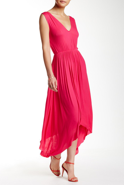 Rachel Pally Serenity Rib Knit Sharkbite Dress
