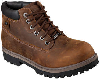 Skechers Verdict Mens Waterproof Leather Work Boots