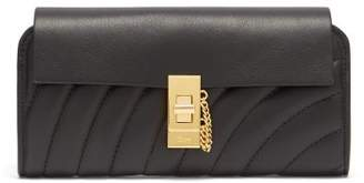 Chloé - Drew Quilted Leather Wallet - Womens - Black