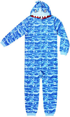 Arizona Boys Character Long Sleeve One Piece Pajama-Big Kid Boys