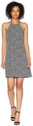 MICHAEL Michael Kors Thora Matte Jersey Halter Dress Women's Dress