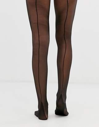 Asos Design DESIGN jive back seam tights