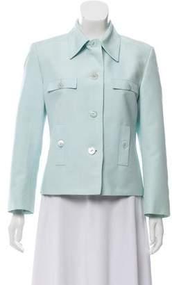 Gucci Structured Button-Up Blazer