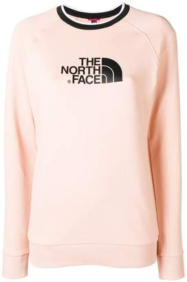 The North Face logo print sweatshirt