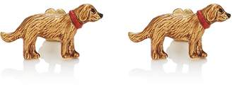Barneys New York Men's Golden Retriever Cufflinks