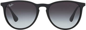Ray-Ban Rb4171 54 Erika Black Pilot Sunglasses
