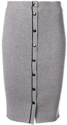Alexander Wang knit midi pencil skirt
