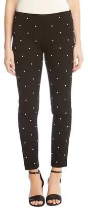 Karen Kane Piper Embellished Ankle Skinny Pants