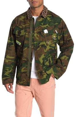 OVADIA AND SONS Camo Print Jacket