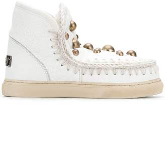 Mou dome stud sneakers