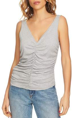 1 STATE 1.STATE Ruched V-Neck Tank