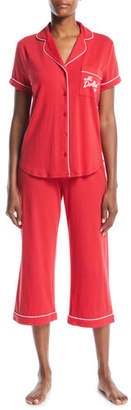 Kate Spade All Dolled Up Cropped Pajama Set