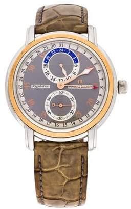 Maurice Lacroix Masterpiece Regulator Watch