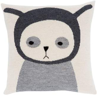 Luckyboysunday Nulle Alpaca Knit Stuffed Pillowcase