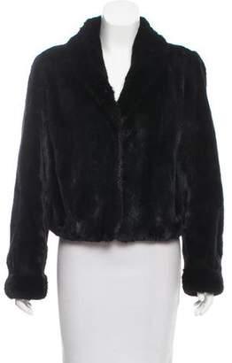 Givenchy Mink Fur Shawl Collar Jacket