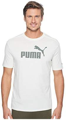 Puma Men's No 1 Logo Perferated Graphic T-Shirt