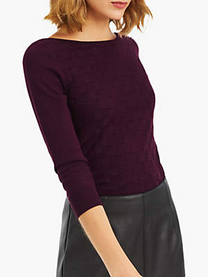 Oasis Tiffany Textured Jumper