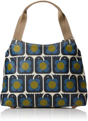 Orla Kiely Love Birds Print Classic Zip Shoulder Bag