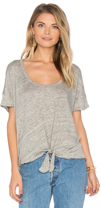 Chaser Tie Front Tee $64 thestylecure.com
