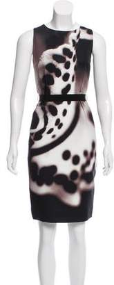 Paule Ka Printed Sheath Dress