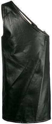 Comme des Garcons one-shoulder apron layer