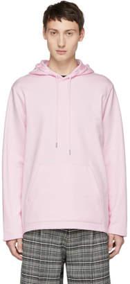 Helmut Lang Reversible Pink Jeremy Deller Light Hoodie