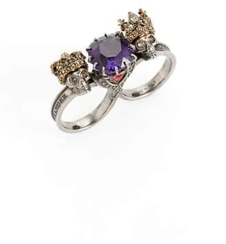 Alexander McQueen Jewel Double Ring
