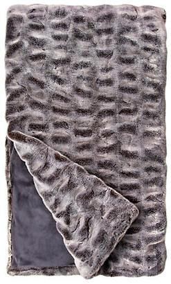 Fabulous Furs Faux-Fur Throw - Glacier Gray Mink - Fabulous-Furs