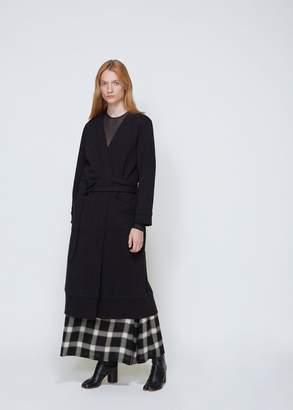 MM6 MAISON MARGIELA Heavy Brushed Wrap Coat