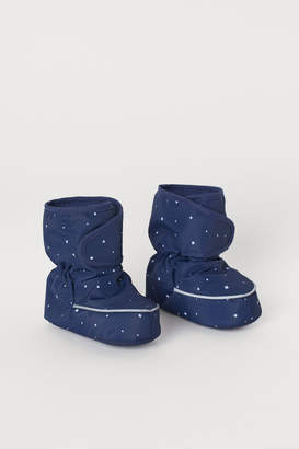 H&M Waterproof Soft Boots - Blue