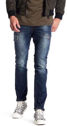 Soul Star Distressed Slim Fit Jeans