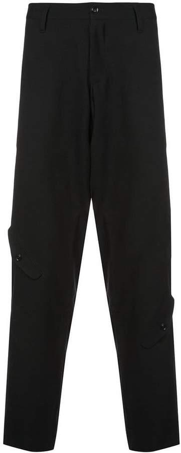 Yohji Yamamoto cargo pocket tapered trousers