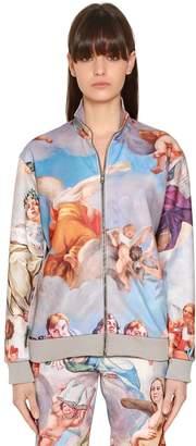 Moschino Fresco Printed Cotton Jersey Sweatshirt