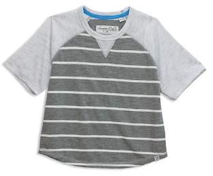 Sovereign Code Boys' Raglan Stripe Fleck Tee - Little Kid, Big Kid