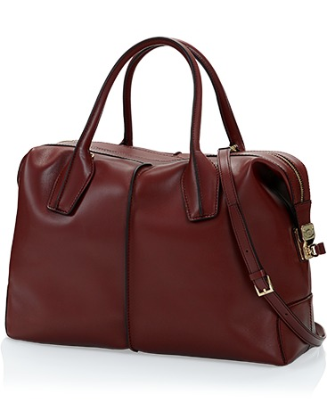Tod's D-Styling Medium Bowler Bag in Leather