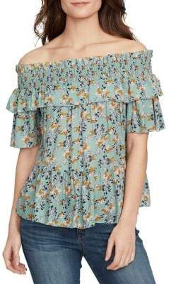 William Rast Arabella Off-the-Shoulder Top