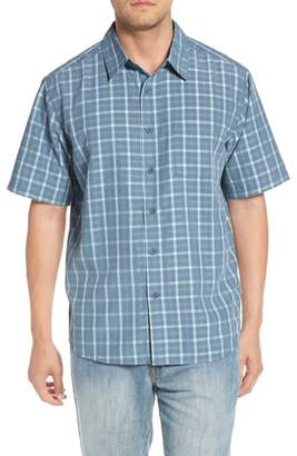 Quiksilver Waterman Collection Checked Light Classic Fit Sport Shirt