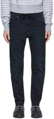 Diesel Blue Narrot CB-NE Jogg Jeans