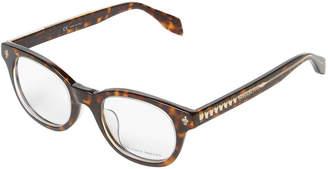 Alexander McQueen Wayfarer Optical Frame