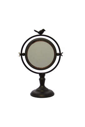 Giftcraft Inc. Table Mirror With Bird