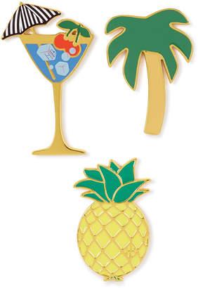 Henri Bendel Tropic Pin Set