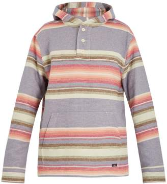 Faherty Pacific striped hooded sweater