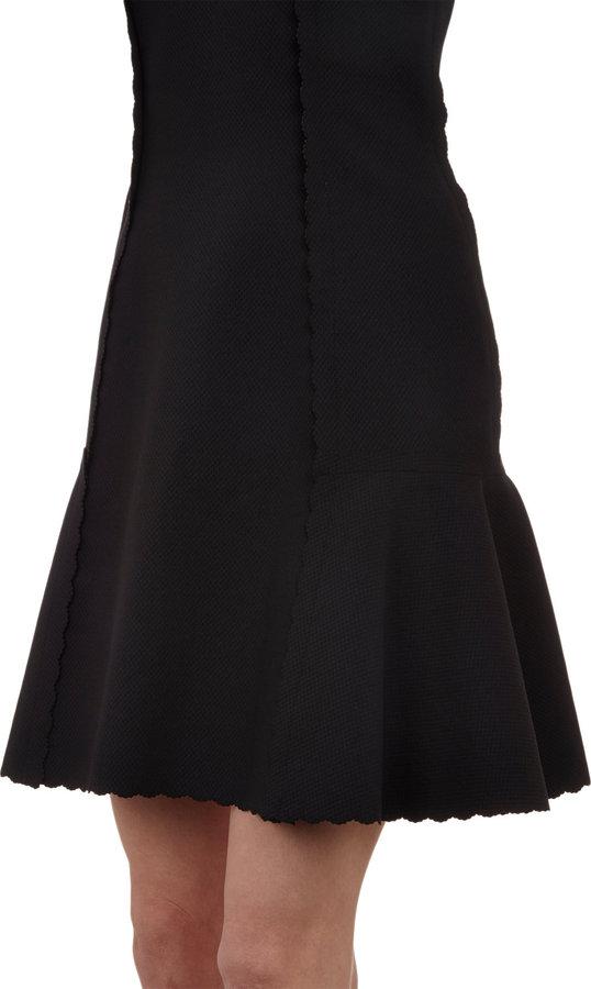 Lanvin Scalloped-Edge Dress